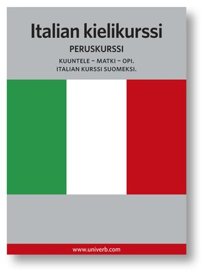 cover image of Italian kielikurssi