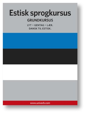 cover image of Estisk sprogkursus
