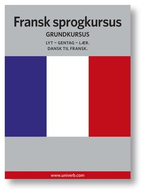 cover image of Fransk sprogkursus