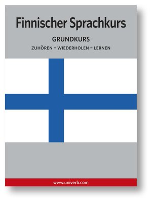 cover image of Finnischer Sprachkurs