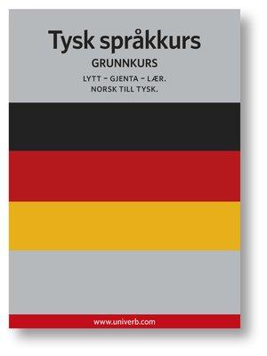 cover image of Tysk språkkurs