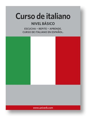 cover image of Curso de italiano