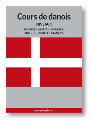 cover image of Cours de danois