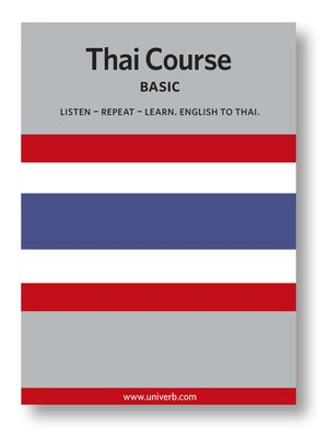 cover image of Thai Course