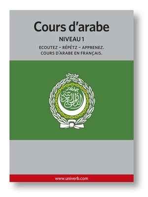 cover image of Cours d'arabe
