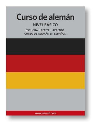 cover image of Curso de alemán