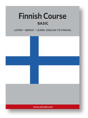 cover image of Finnish Course