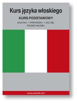 cover image of Kurs języka włoskiego
