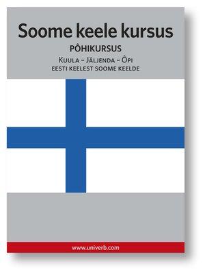 cover image of Soome keele kursus