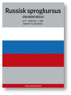 cover image of Russisk sprogkursus