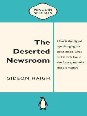 cover image of The Deserted Newsroom