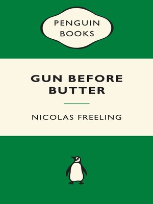 cover image of Gun Before Butter