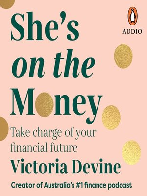 cover image of She's on the Money