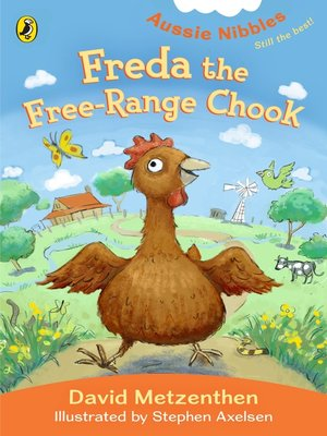 cover image of Freda the Free-Range Chook