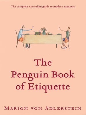cover image of The Penguin Book of Etiquette