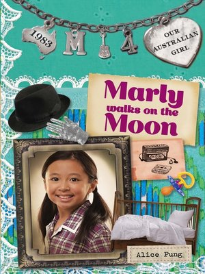 cover image of Marly Walks on the Moon