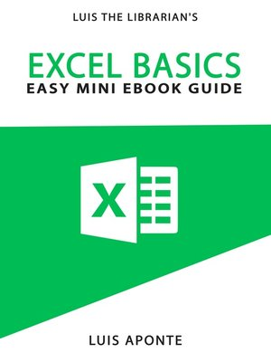 cover image of Excel Basics