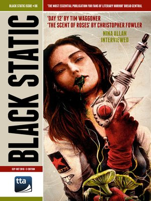 cover image of Black Static #36 Horror Magazine (Sep-Oct 2013)