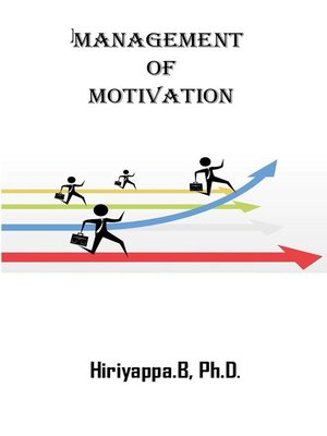 cover image of Management of Motivation