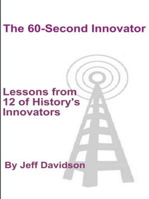 cover image of Lessons from 12 of History's Innovators