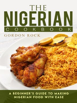 cover image of The Nigerian Cookbook