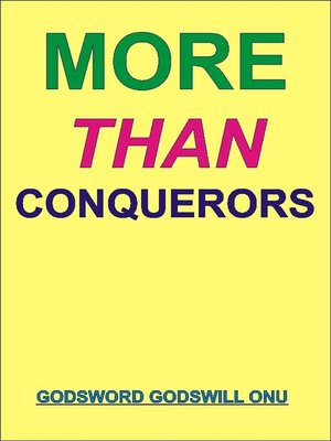 cover image of More Than Conquerors
