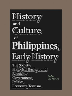 cover image of History and Culture of Philippines, Early History