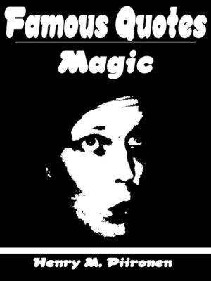 cover image of Famous Quotes on Magic