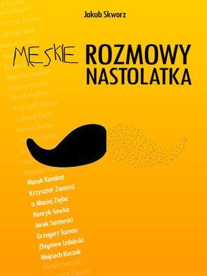 cover image of Męskie rozmowy nastolatka