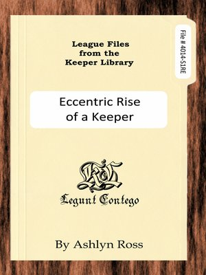 cover image of League Files from the Keeper Library