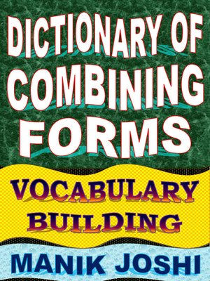 cover image of Dictionary of Combining Forms