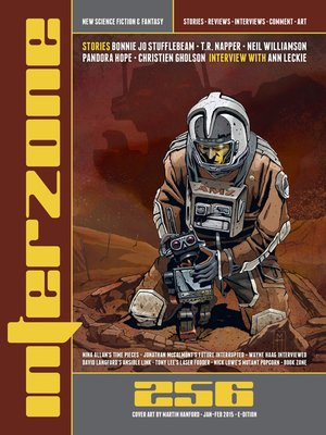 cover image of Interzone #256 (Jan-Feb 2015)