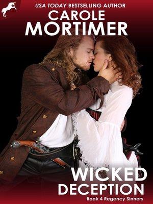 cover image of Wicked Deception (Regency Sinners 4)