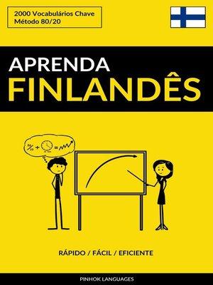 cover image of Aprenda Finlandês