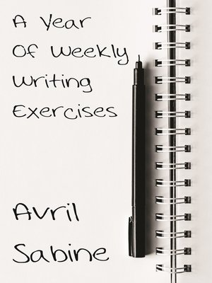 cover image of A Year of Weekly Writing Exercises