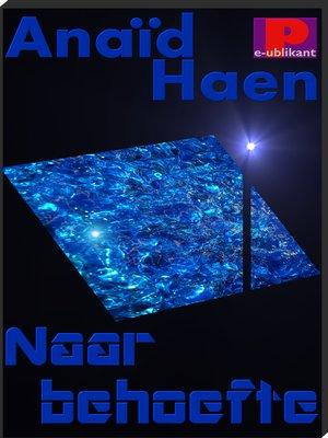 cover image of Naar behoefte