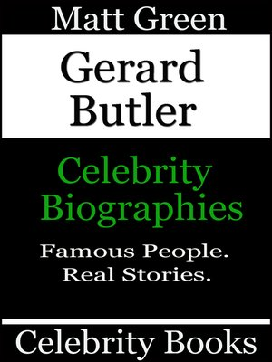 cover image of Gerard Butler