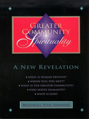 cover image of Greater Community Spirituality
