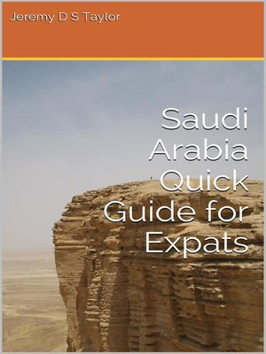 cover image of Saudi Arabia Quick Guide for Expats