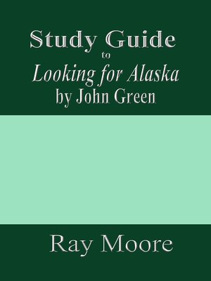 cover image of Study Guide to Looking for Alaska by John Green