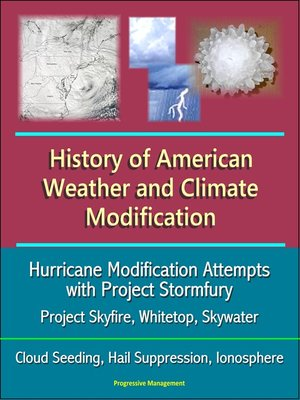 cover image of History of American Weather and Climate Modification