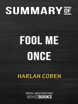 cover image of Summary of Fool Me Once by Harlan Coben / Trivia/Quiz for Fans