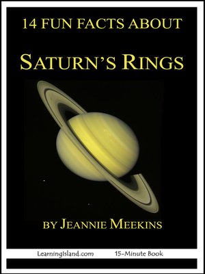 cover image of 14 Fun Facts About Saturn's Rings