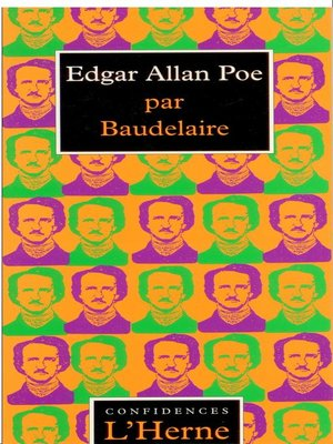 cover image of Essai sur Edgar Allan Poe