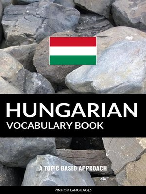 cover image of Hungarian Vocabulary Book