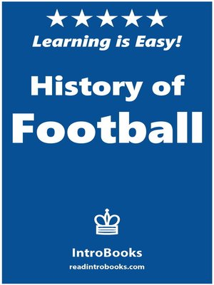 cover image of History of Football