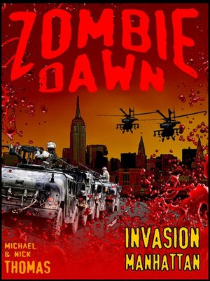cover image of Invasion Manhattan (Zombie Dawn Stories)