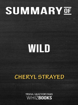 cover image of Summary of Wild