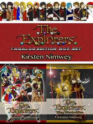 cover image of The Explorers Series Box Set (Tagalog Edition)