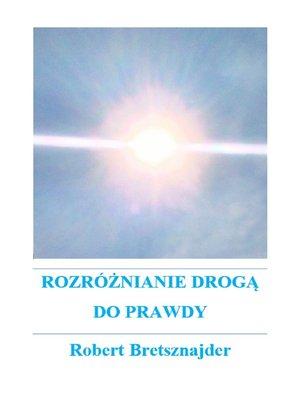 cover image of Rozróżnianie drogą do prawdy